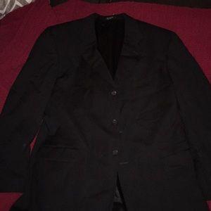 Dark Blue pin stripped sports jacket